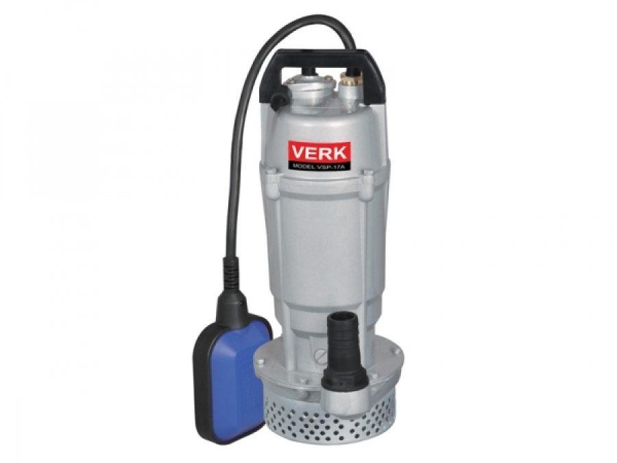 Image of Pompa submersibila de apa curata cu plutitor Verk VSP-17B, 370 W, 4000 l/h