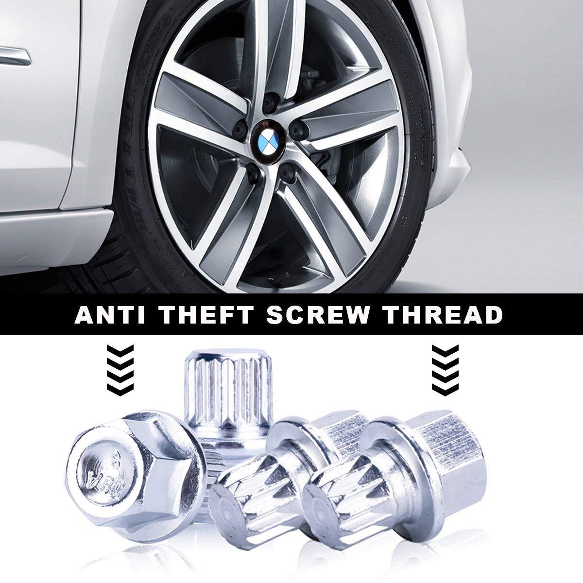 Image of Set 10 chei speciale pentru antifurt prezoane roti BMW PT8-15