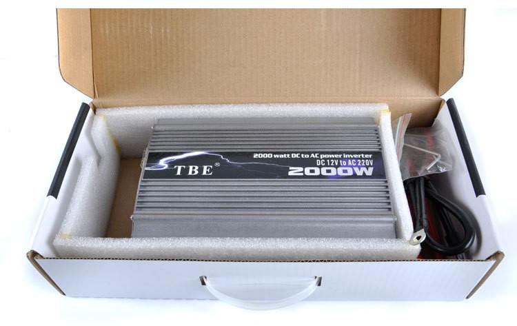 Image of Invertor auto TBE 2000W
