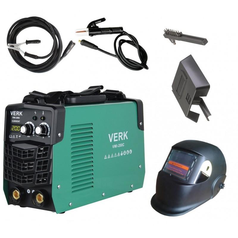 Image of Aparat sudura Verk VWI-200C, iesire 200 A, tip invertor