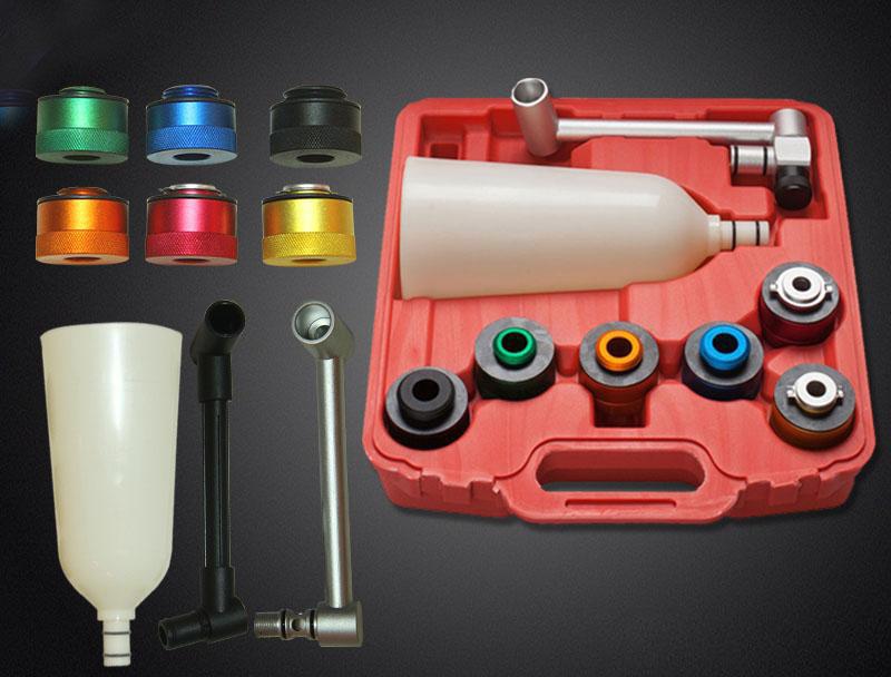 Image of Trusa set 8 piese adaptoare speciale cu palnie pentru schimb ulei