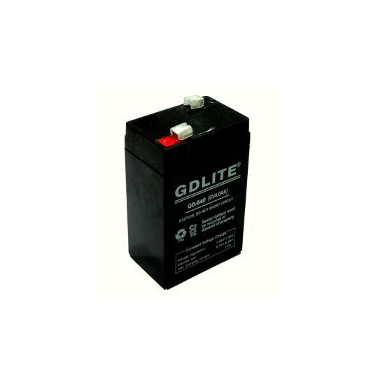 Image of Acumulator 6V 4A cantar electronic GDLITE 640