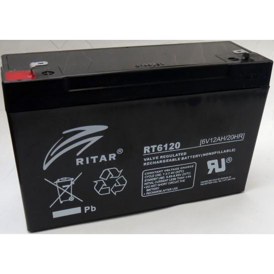 Acumulator Globstar 6V 12Ah RT6120 pret