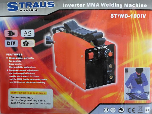 Aparat de sudura cu invertor Straus ST/WD-100IV pret