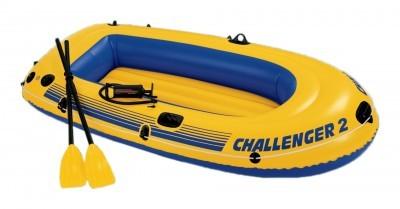 Image of Barca gonflabila Challenger 2 pentru 2 persoane Intex 68367