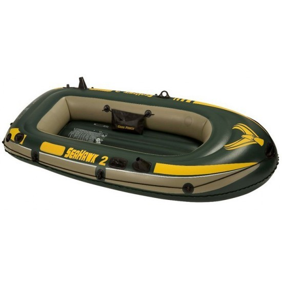 Image of Barca gonflabila pentru 2 persoane Seahawk II Intex 68346