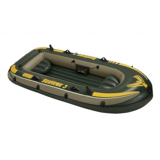 Image of Barca gonflabila pentru 3 persoane Seahawk III Intex 68349