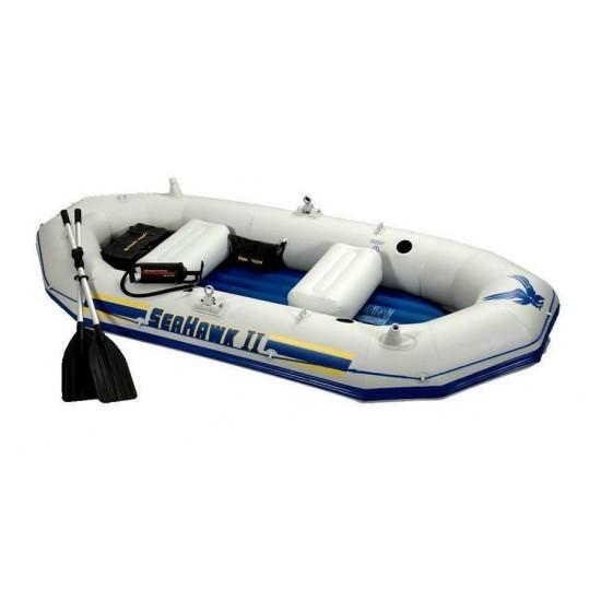 Image of Barca gonflabila Seahawk II pentru 3-4 persoane Intex 68377