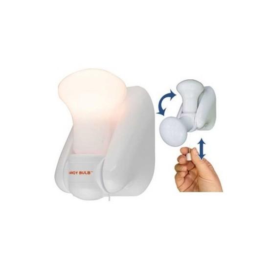 Image of Bec fara fir cu intrerupator Handy Bulb