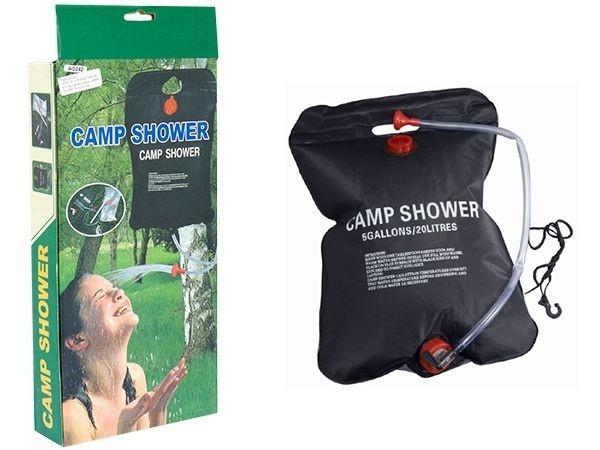 Dus solar pentru camping sau calatorii, 20 litri