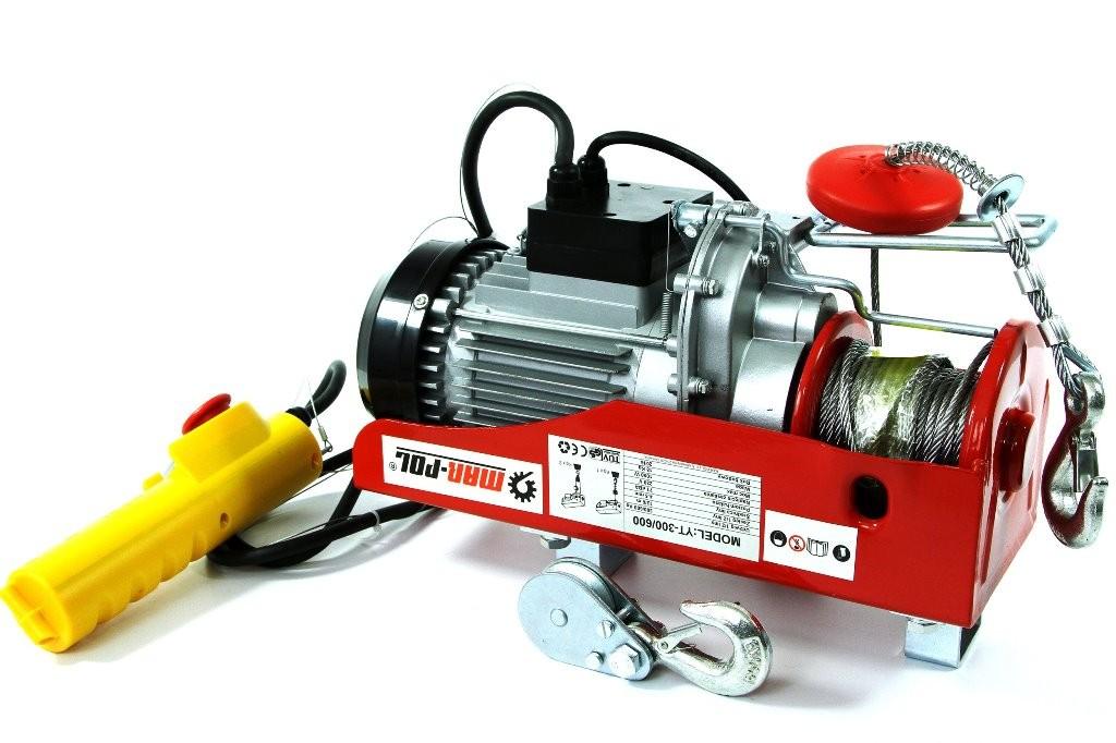 Macara electrica, 300/600 kg, M80790
