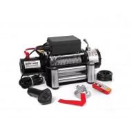 Troliu electric auto performant pentru tractari, Jeep offroad 4x4 cu telecomanda