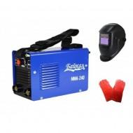Pachet promotional Aparat de sudura tip Invertor 240 A, Baikal + Masca de sudura LCD si Manusi sudura