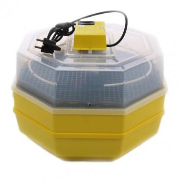 Incubator electric dublu , CLEO 5X2 DT, Temperatura incubare 38 grade, Capacitate 82 oua gaina, Dispozitiv dublu de intoarcere si Termometru