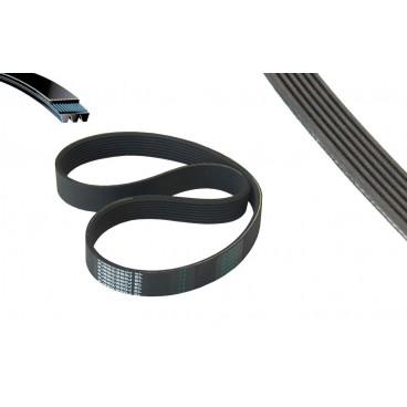 Curea transmisie poly-V cu 6 canale pentru betoniera, masina de spalat, motorizari, 608/710 mm
