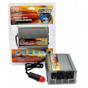 Invertor auto 150 W - SAD