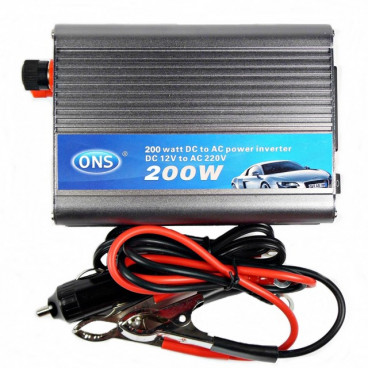 Invertor auto ONS 200W