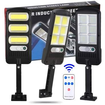 Lampa solara , senzor de miscare si lumina, cu telecomanda