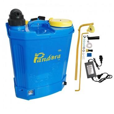 Pompa pentru stropit electrica, acumulator inclus, 16 litri