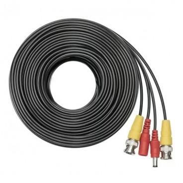 Cablu sertizat pentru camere supraveghere, 30 metri