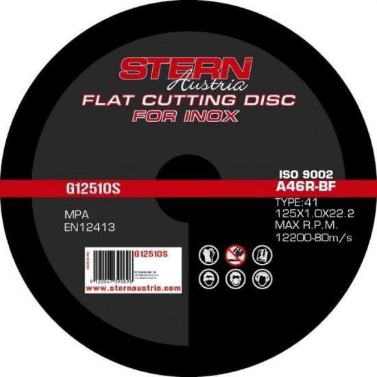 Disc abraziv Stern Austria G12510S pentru polizor unghiular - 125x1mm pret