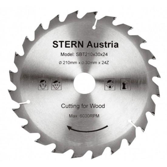 Image of Disc debitare lemn Stern SBT210/24 pentru ferastrau circular