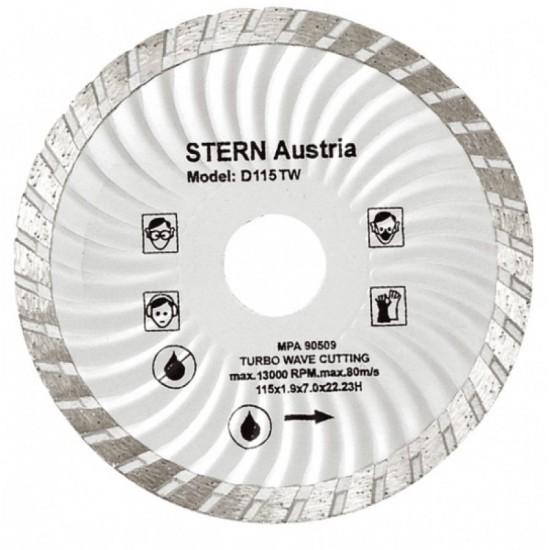Image of Disc diamantat Turbo Stern D125TW pentru polizor