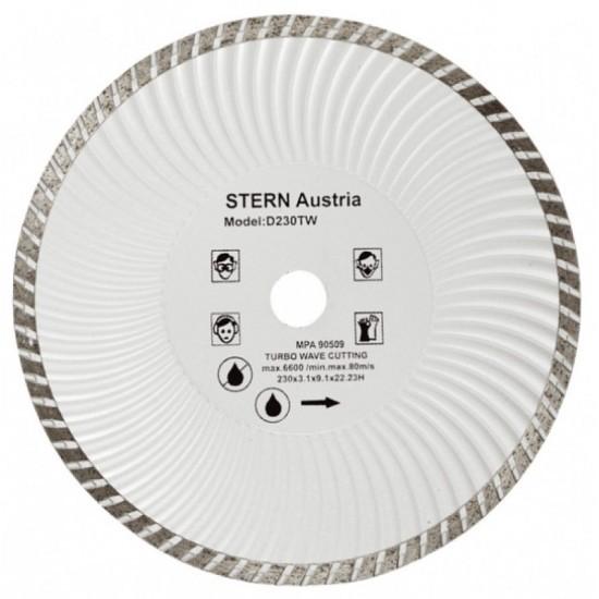Disc diamantat Turbo Stern D180TW pentru polizor pret