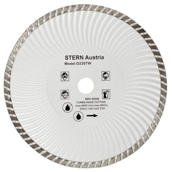 Image of Disc diamantat Turbo Stern D230TW pentru polizor