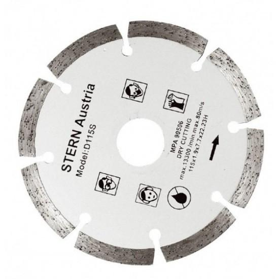Image of Disc Stern D115S diamantat pentru polizor