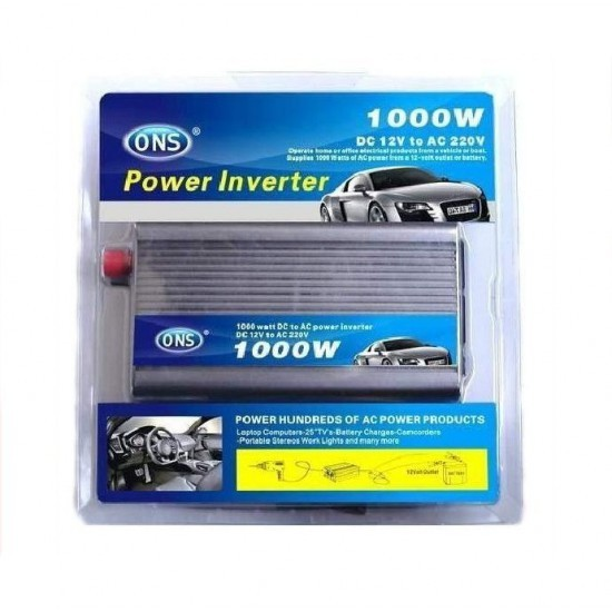 Invertor auto 1000W ONS 12V pret