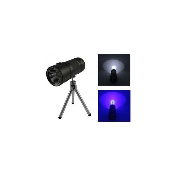 Image of Lanterna cu trepied metalic Dual Light
