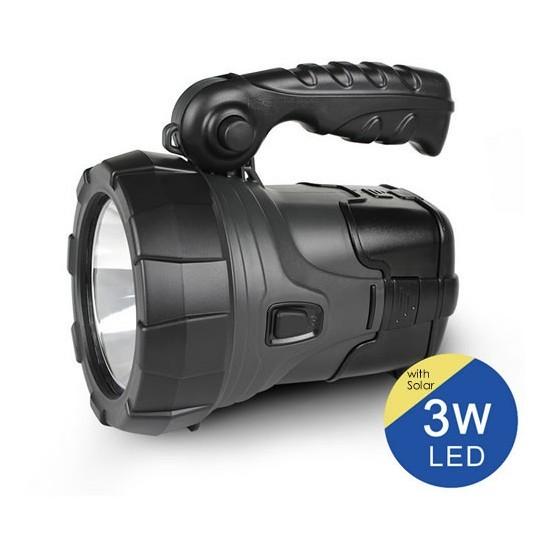 Image of Lanterna Led 3W cu USB si Radio FM ZUKE ZK2181