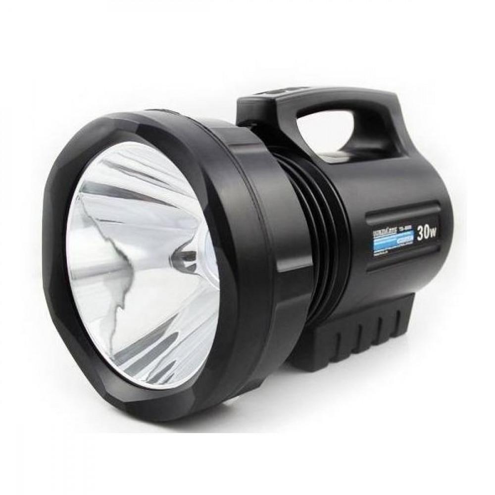 Image of Lanterna reincarcabila cu bec halogen de 30W si semnalizare