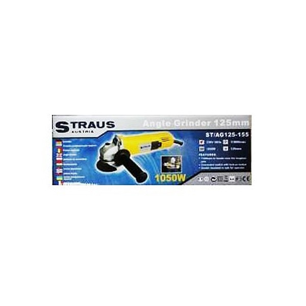 Polizor unghiular tip flex Straus Austria ST/AG125-155 cu putere 1050W pret