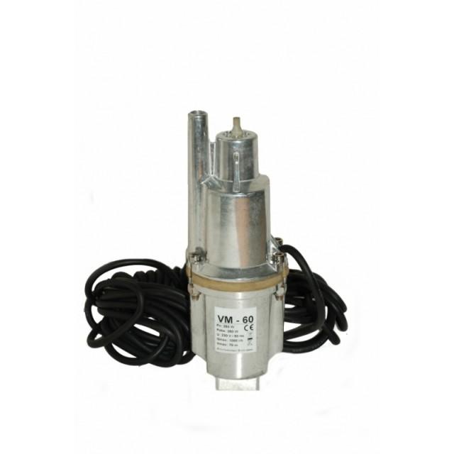 Pompa submersibila cu membrana vibranta putere 0.25KW Inox pret
