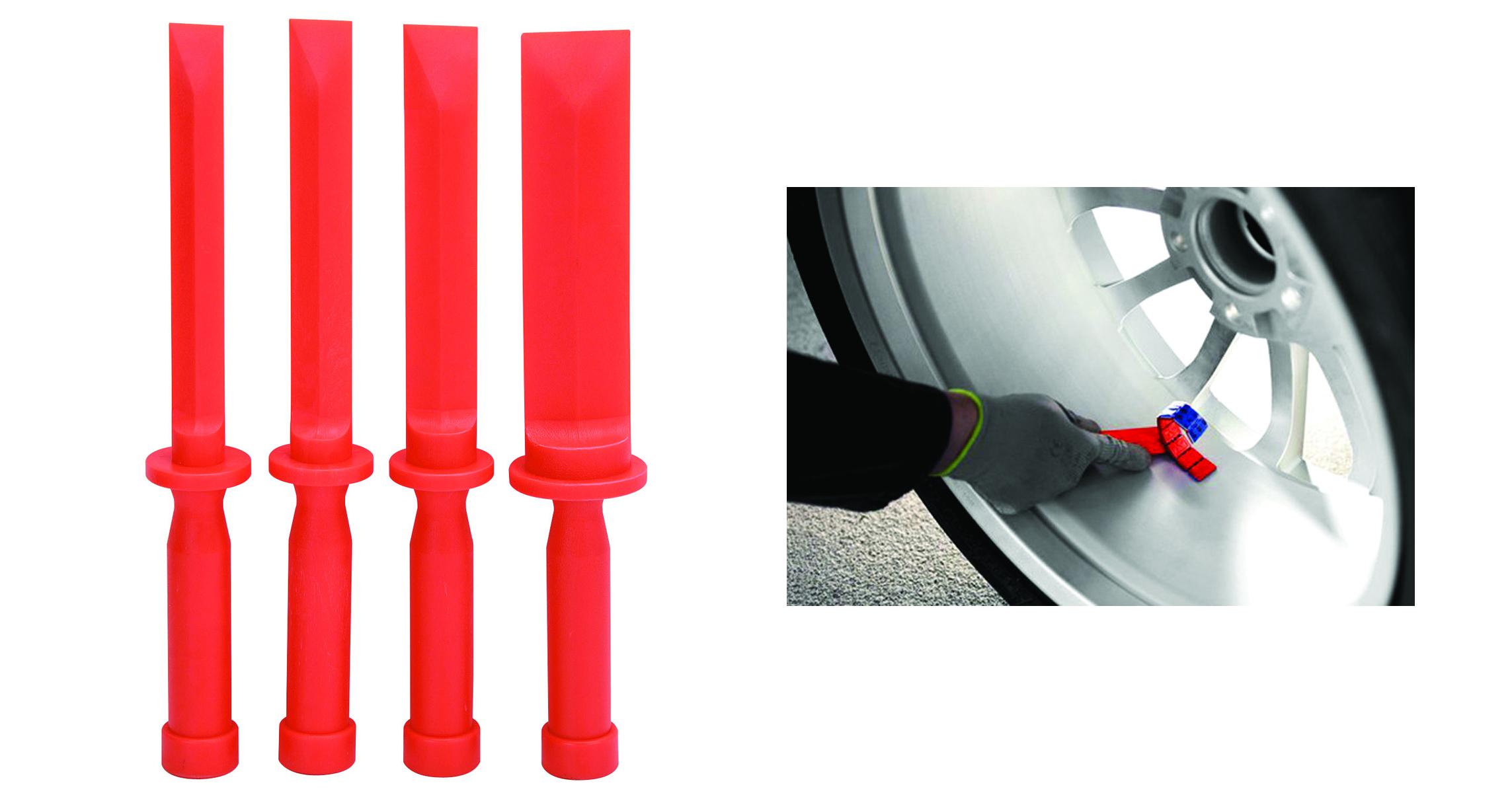 Image of Set leviere tip rascheta dalta pentru inlaturare adeziv contragreutati jante auto