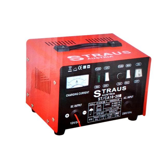 Image of Redresor incarcare baterii auto Straus Austria ST/CA16-20B