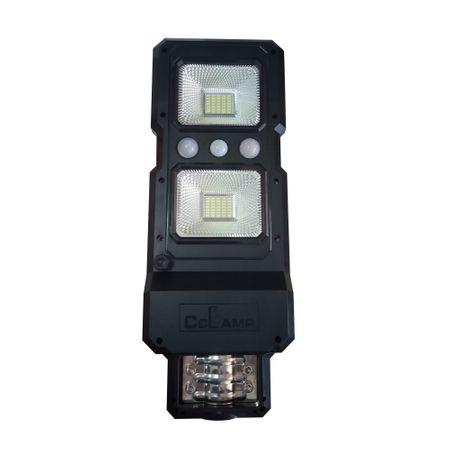Image of Lampa stradala cu panou solar si senzor de lumina LED 60 W