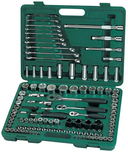 Image of Trusa scule profesionala 120 piese dr. socket & bit