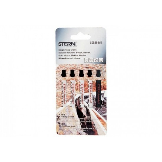 Image of Set 5 panze pentru ferastrau pendular Stern JSB100/5