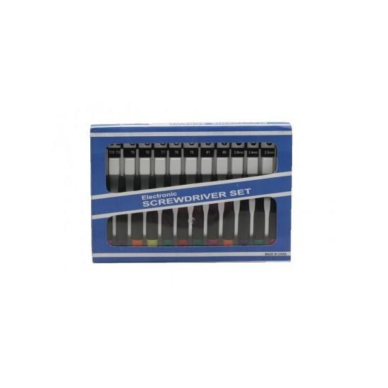 Set de surubelnite de electronica DL 12PC-1 pret