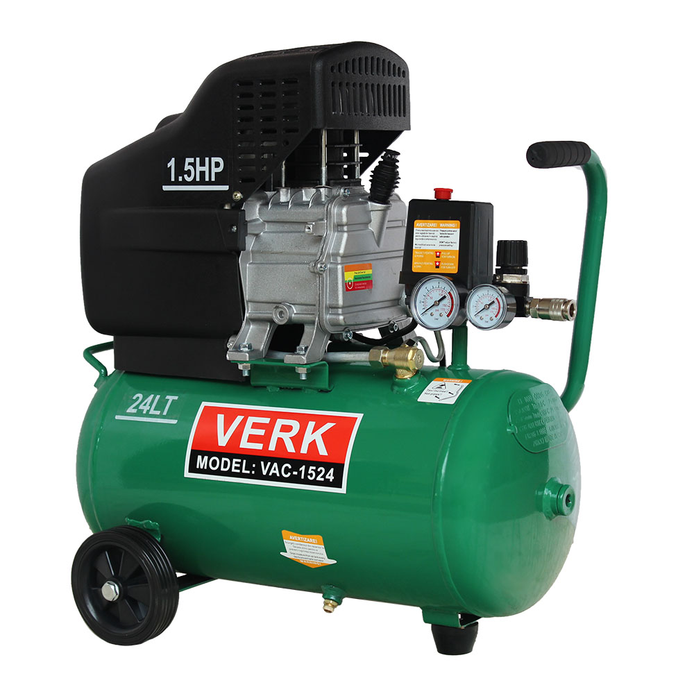 Compresor de aer putere 1,5CP capacitate 24 Litri vac1524 pret