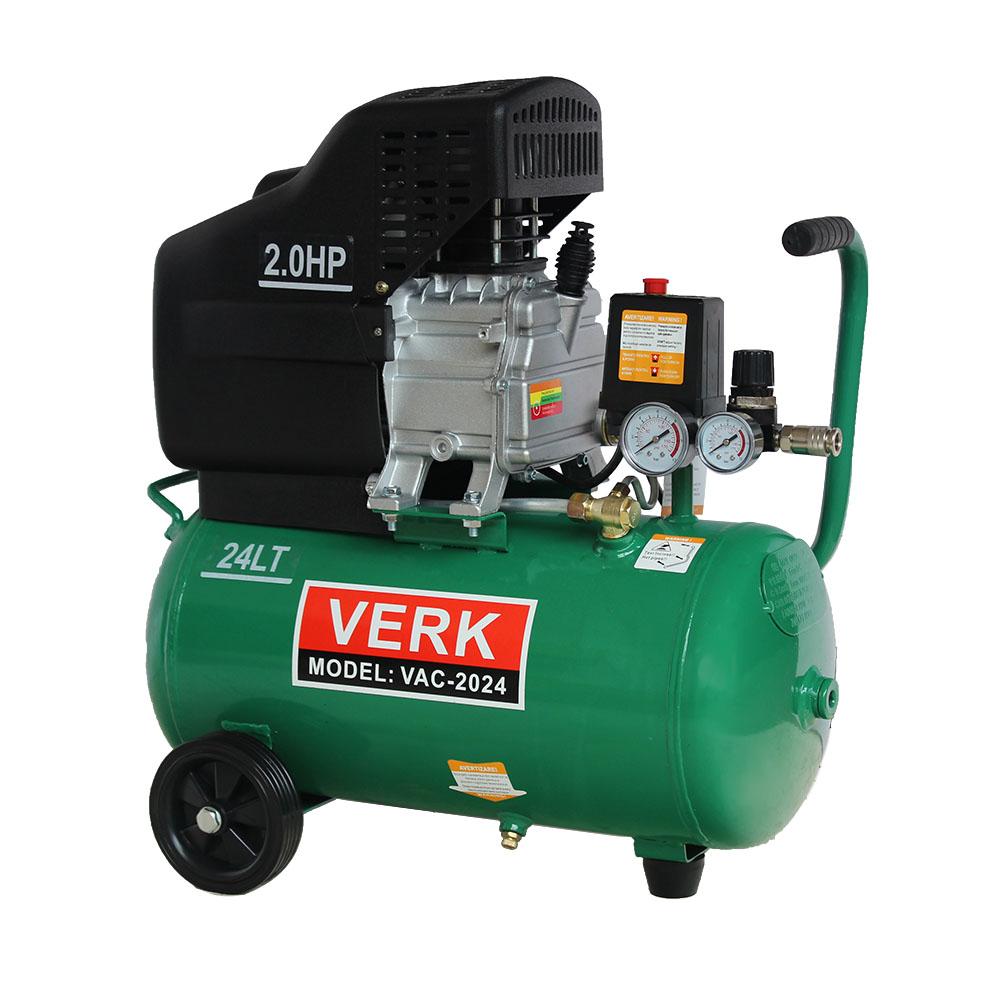 Image of Compresor de aer Verk 24 Litri 2 CP vac2024