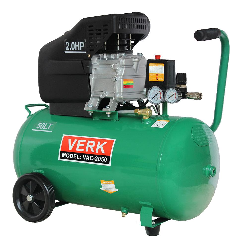 Image of Compresor de aer Verk putere 2CP capacitate 50 litri