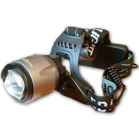 Image of Lanterna frontala metalica cu zoom si acumulator MX K16